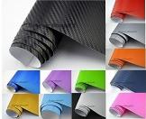 NEOXXIM PREMIUM - Auto Folie - 3D Carbon Folie - SCHWARZ 30 x 150 cm - blasenfrei mit Luftkanälen ca. 0,16mm dick - 1